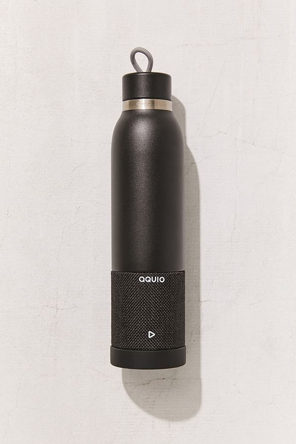 558df8e7f1 Bluetooth Speaker Water Bottle (Black) — The Last Minute Gift Guide